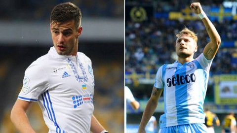 Dynamo Kiev v Lazio – Thursday