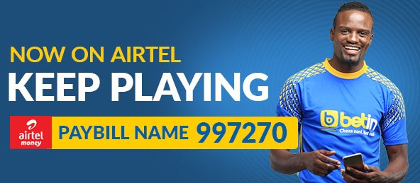 Airtel PAYBILL Betin