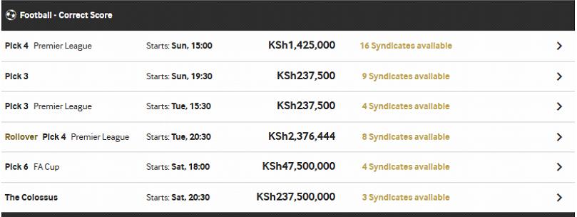 BETWAY KENYA JACKPOTS | KenyanBets