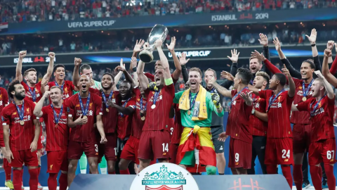 UEFA Super Cup Winners: Liverpool Wins against Chelsea 5-4