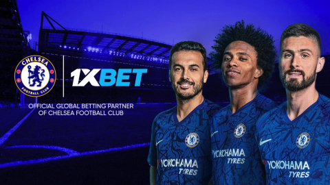 CHELSEA ENTER A 3YRS PARTNERSHIP DEAL WITH 1XBET
