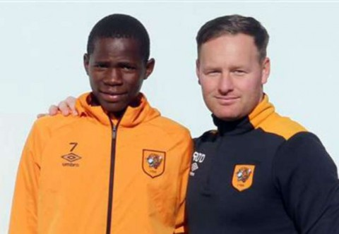 Sony Sugar youngster to train with Hull City academy