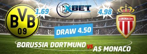 Borussia Dortmund v Monaco Betting Tips & Preview