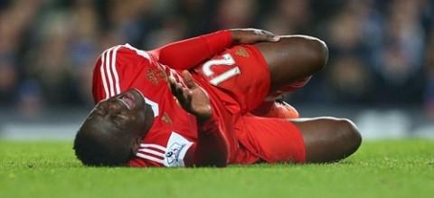 Tottenham midfielder Victor Wanyama injured