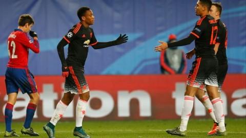 CSKA v Man Utd