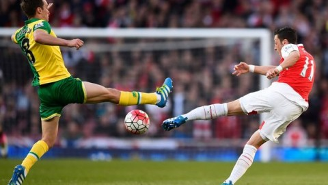 Arsenal v Norwich – Tuesday