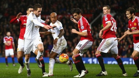 Swansea v Man Utd- Tuesday