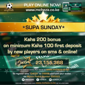 M-Cheza Kenya bonuses