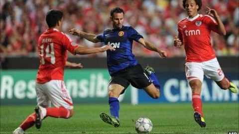 Benfica v Man Utd Betting