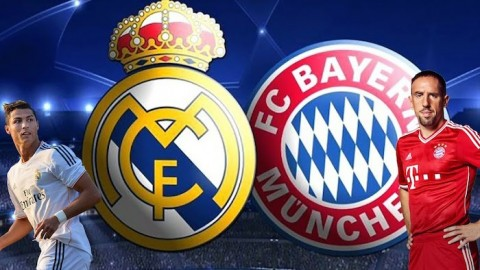Bayern Munich v Real Madrid
