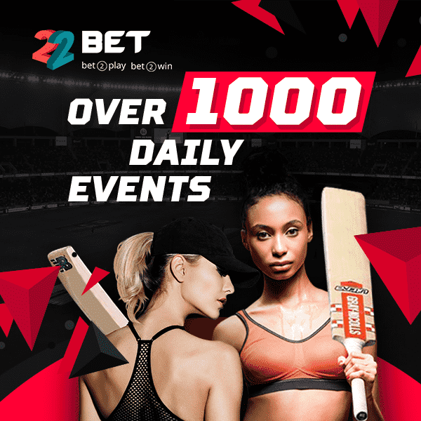 22bet events