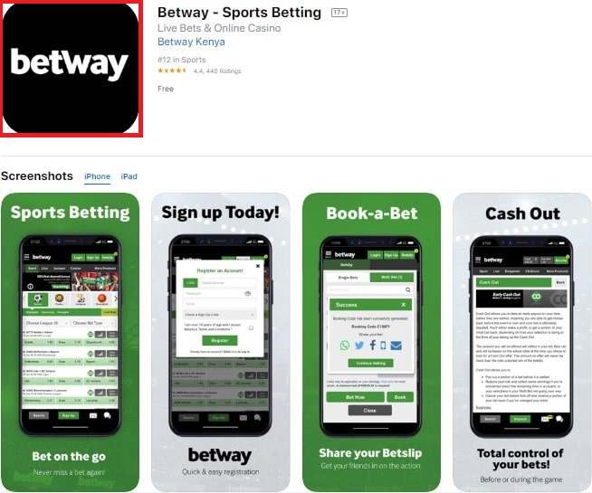 betway ios download