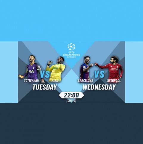 Accumulator for the Champions League semi-finals