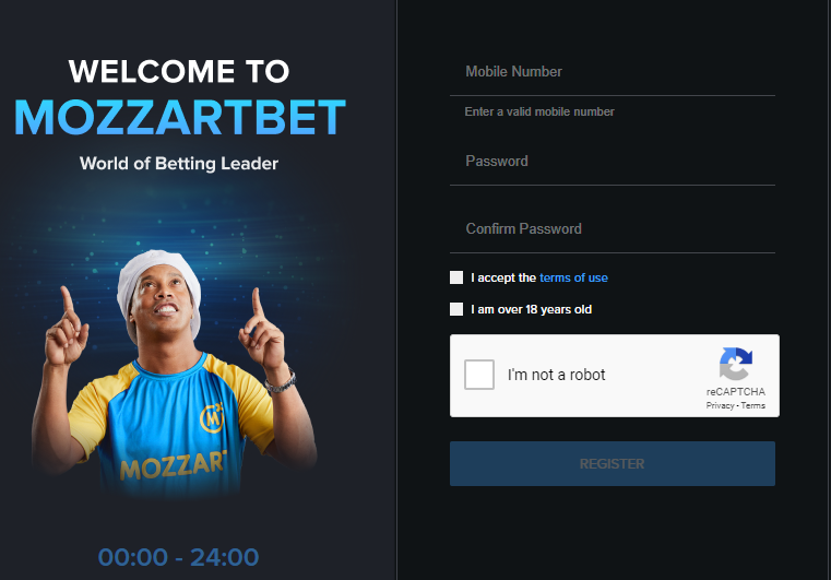 Mozzartbet registration