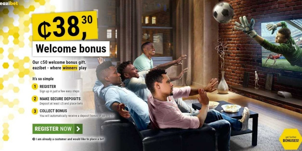 eazibet welcome bonus