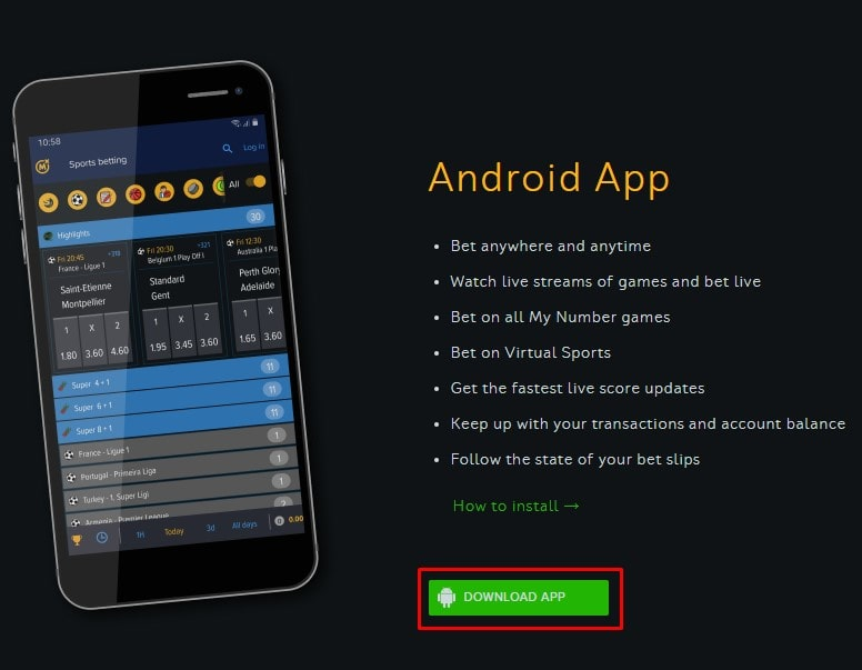 mozzartbet download app