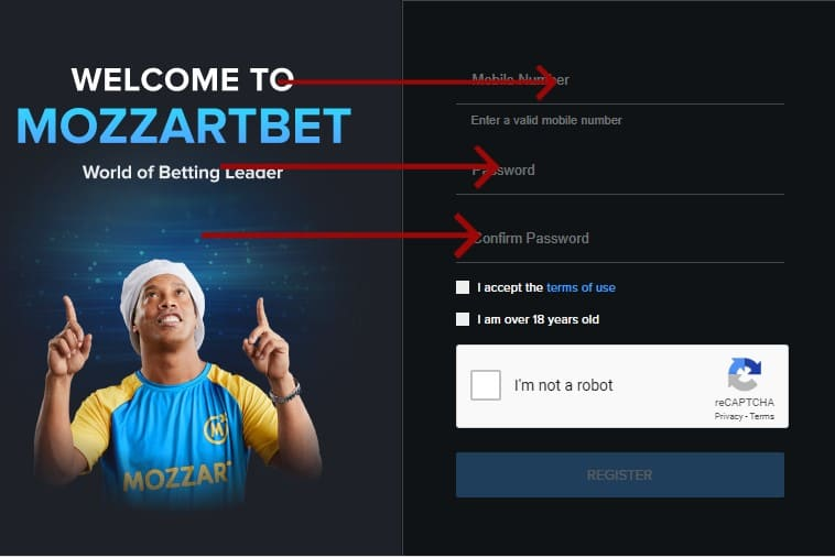 mozzartbet registration