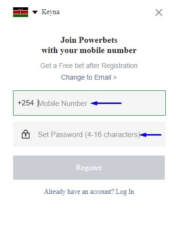 powerbet registration