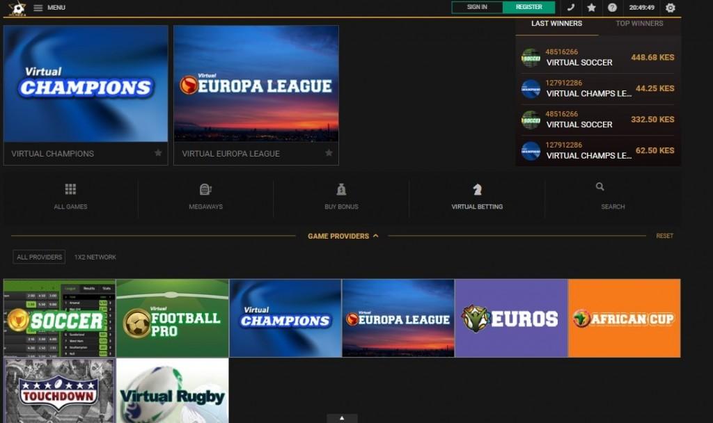 virtual sport mcheza